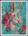 "Spring Spirits nr 3 ""Rabit and roses"""